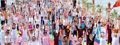 LifeArt Festival, International Yoga Fes