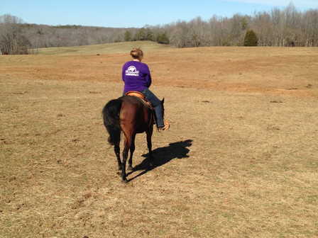 Amira's First Trail Ride!