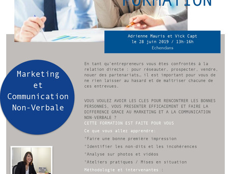 FORMATION : Marketing et Communication Non-Verbale