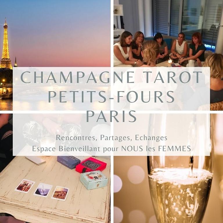 """Soirée Femmes  """"Champagne, Tarot, Petits-Fours """" 11 ème édition (3ème à Paris)"""