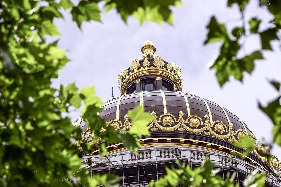 top of the Belgian Justice Building in B