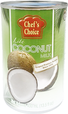 CHEF'S CHOICE LITE COCONUT MILK 400ML.pn