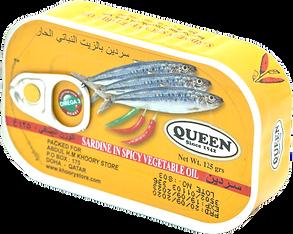 QUEEN SARDINE SPICY 125G.png