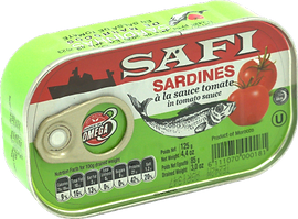SAFI SARDINE TOMATO SAUCE 125G.png