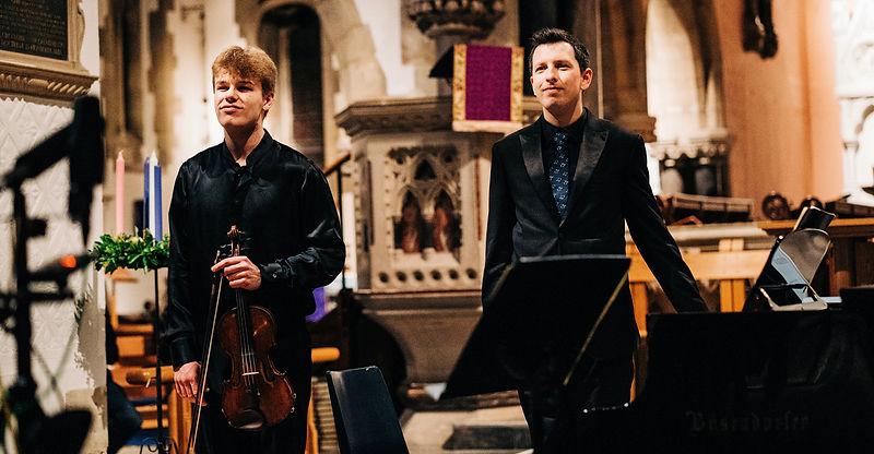 Joel Munday & Lucas Krupinski, Sidmouth Recital, December 2020