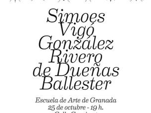 """""""Hexápoda"""" en la Escuela de Artes y Oficios de Granada."""