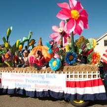 Topsfield Garden Club Float in the Topsfield Fair Parade