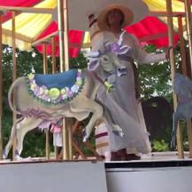 Garden Club Float at the Topsfield Fair Parade