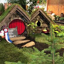 Topsfield Fair Flower Barn display