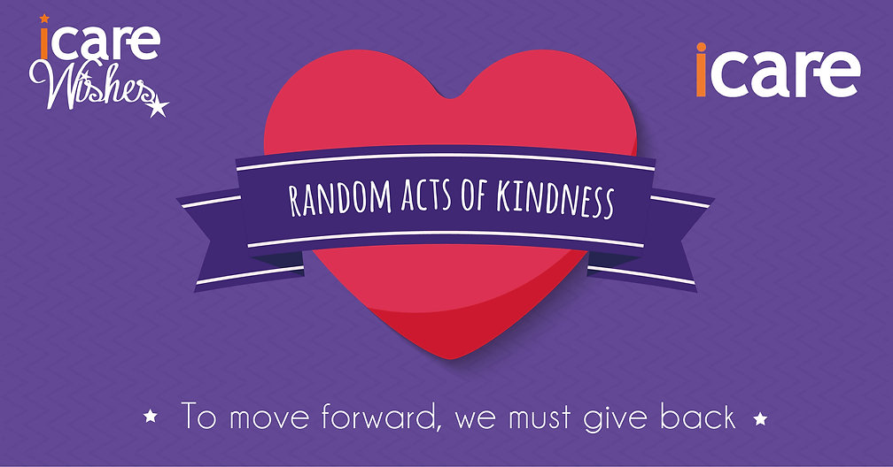 iCare Random Acts of Kindness Campaign