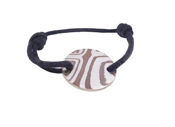 Bracelet rond cordon