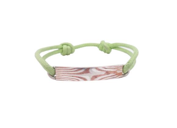 Bracelet identité cordon