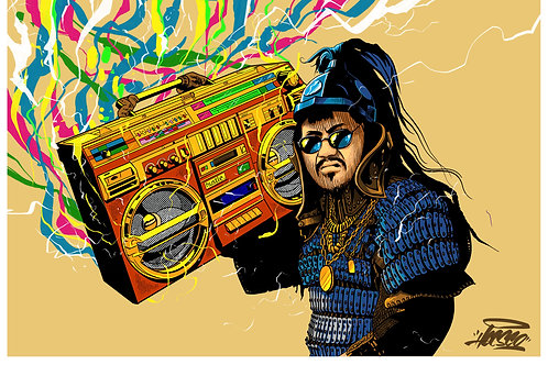 Mongo Boogie art print