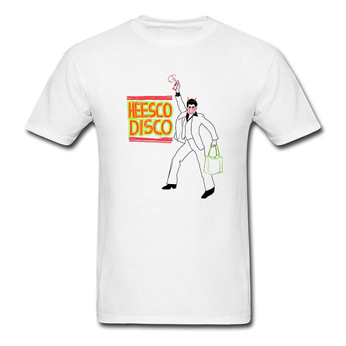 Heesco Disco (White rough) t-shirt