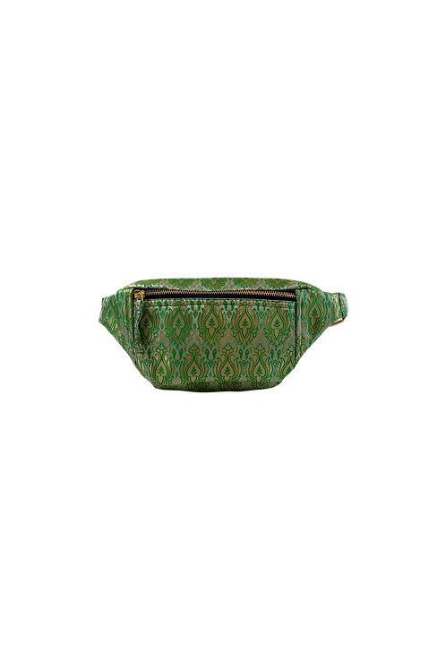 EDEN bag jacquard green
