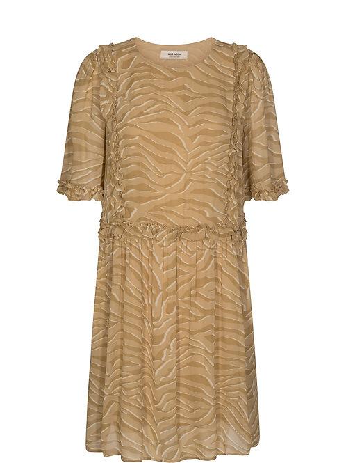 MosMosh Malise Zebra Dress