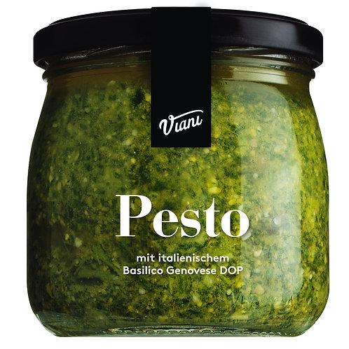Pesto Genueser Art mit ligurischem Basilkum VIANI, ITALIEN  Pesto Genueser Art m