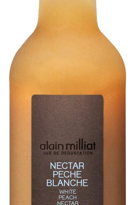 Weißer Pfirsich-Nektar ALAIN MILLIAT mit 50% Fruchtanteil 0,33 l
