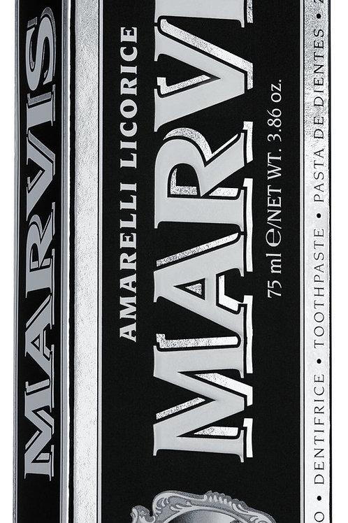 Zahnpasta mit Lakritze MARVIS AMARELLI, ITALIEN  mit echter Lakritze