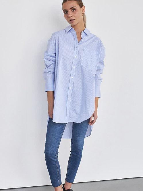 STYLESTORE Hannah Stripe Ls Shirt Light Blue Stripe