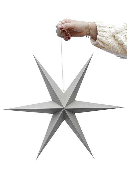 Stern Papier grey stars