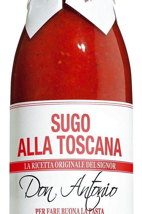 Sugo alla Toscana DON ANTONIO Tomatensauce mit Knoblauch 480 ml