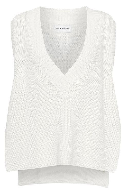 BLANCHE Hybrid Knit white