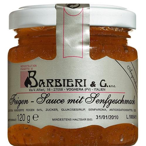 Salsa di fichi BARBIERI, ITALIEN  pikante Feigensenfsauce
