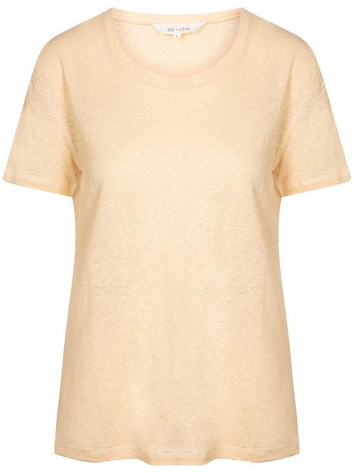 Gai&Lisva Liv-o-Neck Tshirt abricot