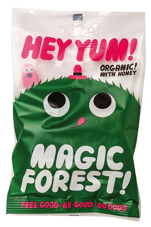 Magic Forest HEY YUM! Fruchtgummi mit Beerenaromen, Display, Bio