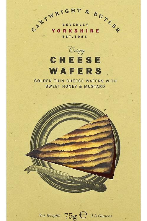 Cheese Wafers  Waffeln mit Honig und Senf