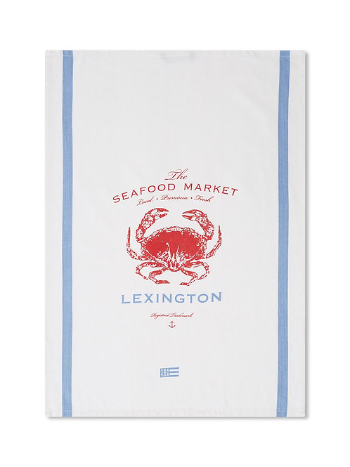 Lexington CRAB COTTON TWILL KITCHEN TOWEL