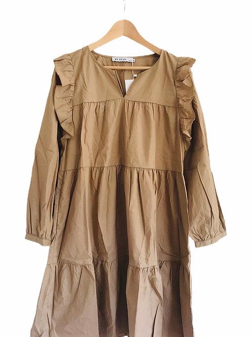 Lebensart Kleid beige