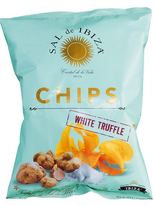 Chips Truffles SAL DE IBIZA, SPANIEN  Kartoffelchips mit weißen Trüffeln