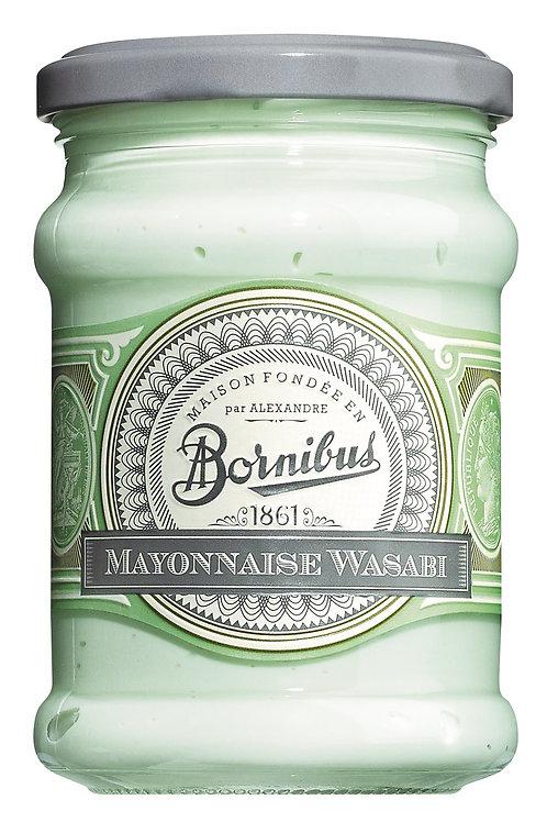 Mayonnaise Wasabi BORNIBUS, FRANKREICH  Mayonnaise japanischer Meerrettich