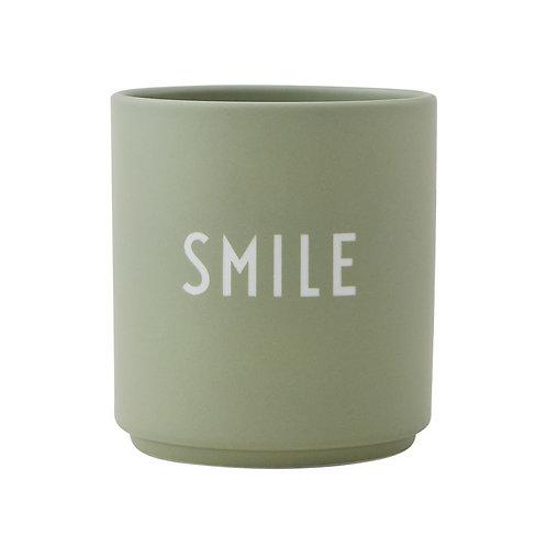 Design Letters Becher Smile