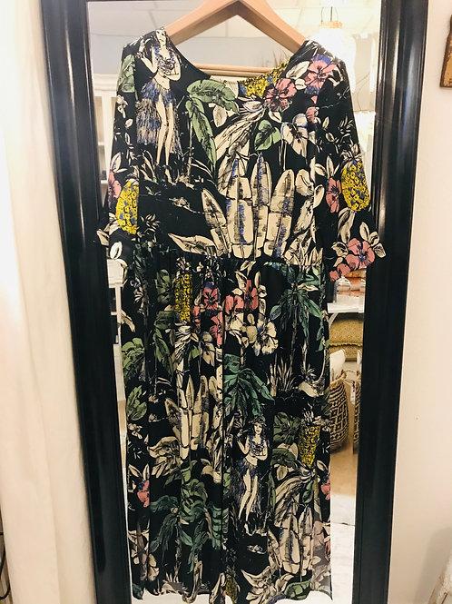 Shirtaporter Kleid Hawaii