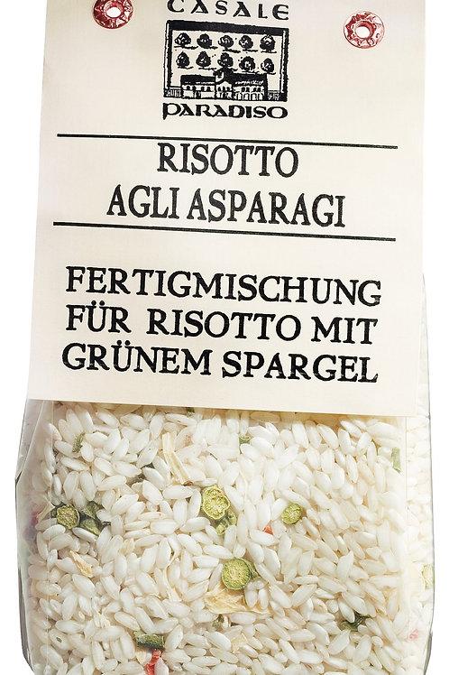 Risotto agli asparagi CASALE PARADISO, ITALIEN  mit grünem Spargel