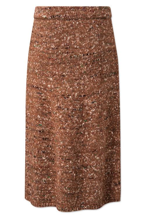 LOVECHILD 1979 Shayla Skirt rust brown