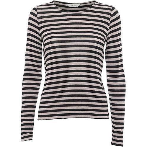 Gai+Lisva Agnete Shirt stripe black/white