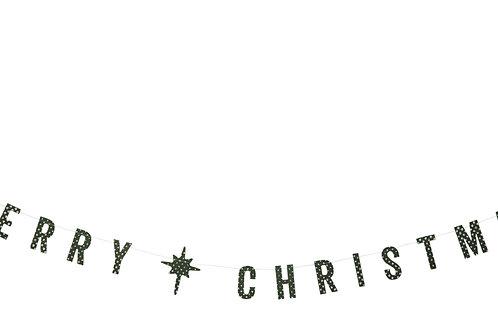 MERRY CHRISTMAS PAPER GUIRLANDE