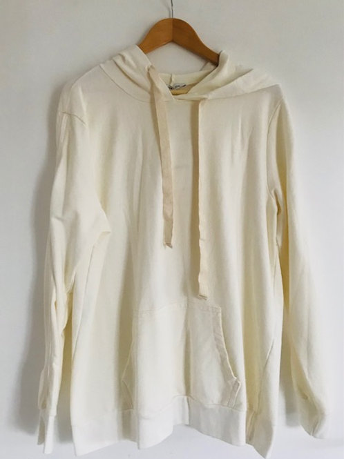 Lebensart Hoodie Sweatshirt cremeweiss