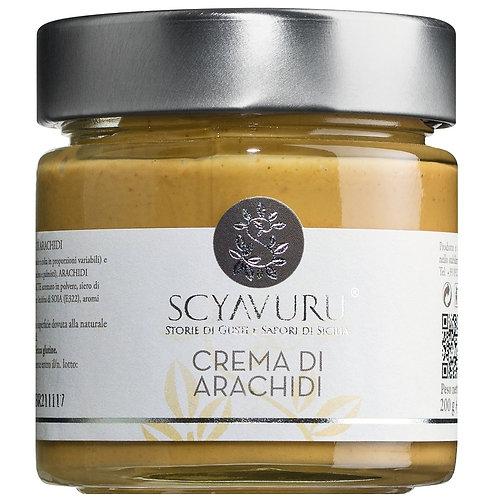 Crema di Arachidi SCYAVURU, ITALIEN  Süße Erdnusscreme