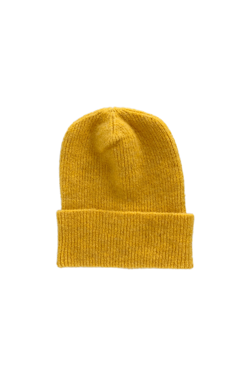 CAROL knitted hat yellow