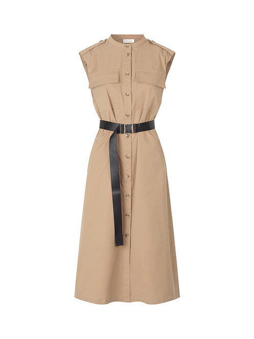 -Pre-Order- NOTES Du Nord Trina Dress beige