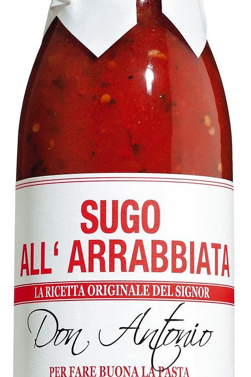Sugo all'arrabbiata DON ANTONIO, ITALIEN  Tomatensauce mit Chili