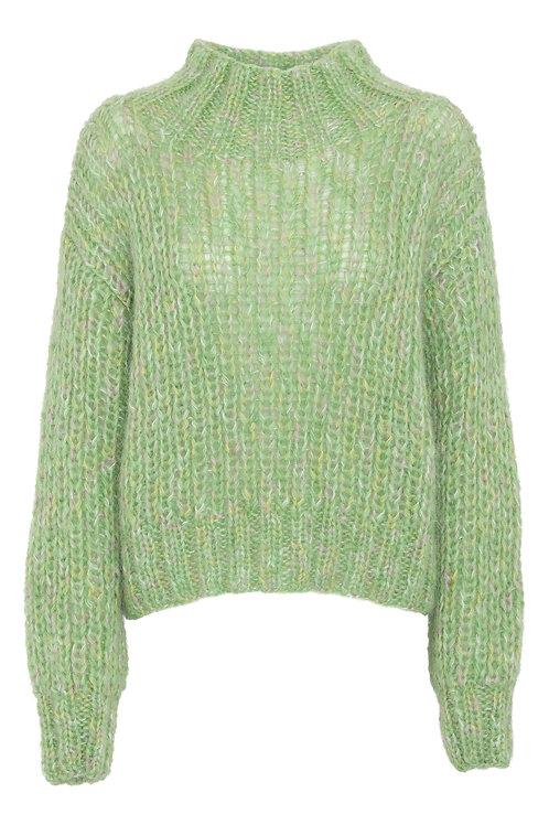 BLANCHE Kuma Jumper Knit lime green