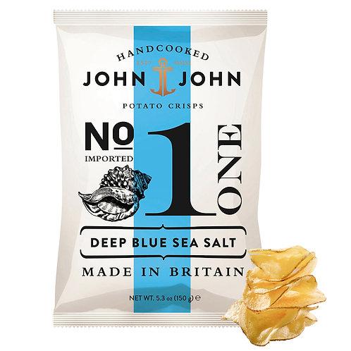 John & John Crisps - Deep Blue Sea Salt