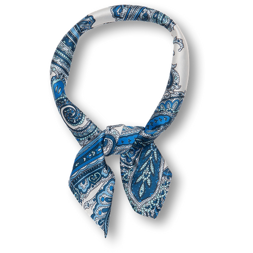 Tabullah scarf navy