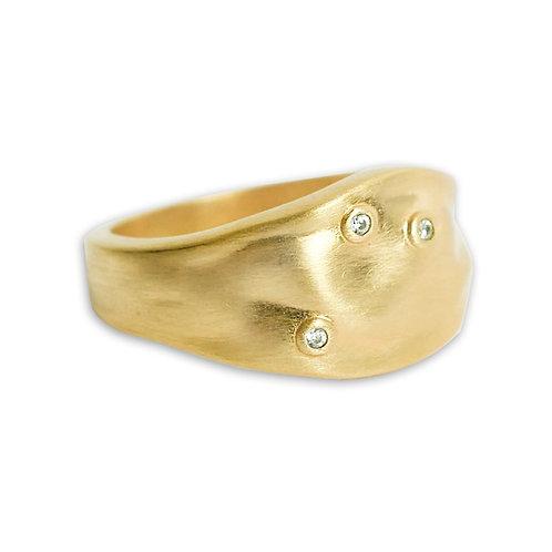 Enamel Dainty Ring